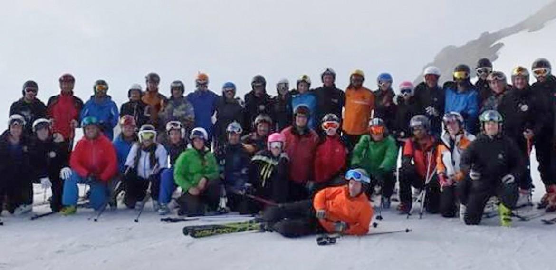 TD 1 y TD 2 de esquí alpino en Tignes